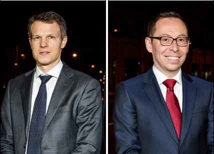 Der parteilose Ramon Steffen (rechts) stellte in der vergangenen Woche beharrlich Fragen zu Simon Hofmanns Unabhängigkeit.