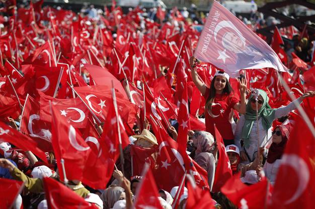 Grosskundgebung von Erdogan in Istanbul (4)