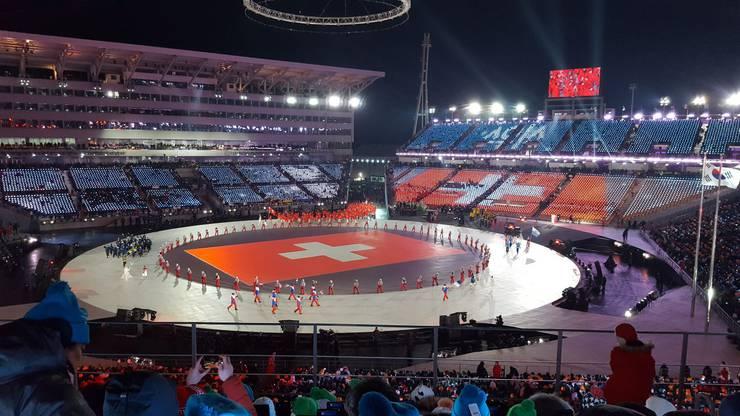 Die Eröffnungsfeier der Olympischen Winterspiele 2018