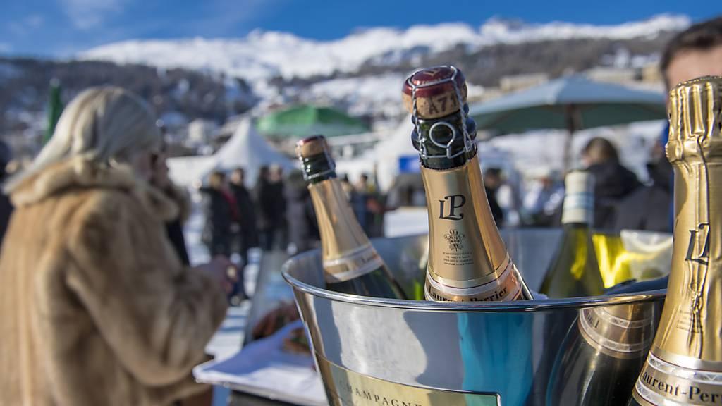 Die Reichen und Schönen dieser Welt wollen mit ihren Geldanlagen vermehrt auch soziale Ziele erreichen: Das White Turf-Pferderennen in St. Moritz (Symbolbild).