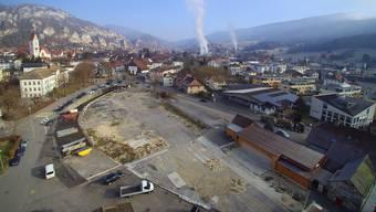 Bis das Sagi-Areal in Balsthal überbaut wird, sollen auch Zwischennutzungen möglich sein.
