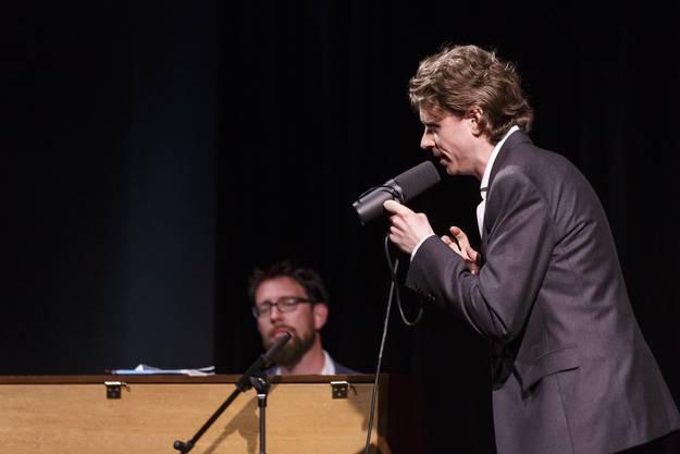 Michael Fehr, am Piano Raphael Urweider