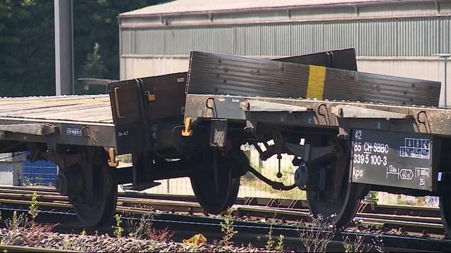 Rangiermanöver-Crash beim Bahnhof Olten Hammer