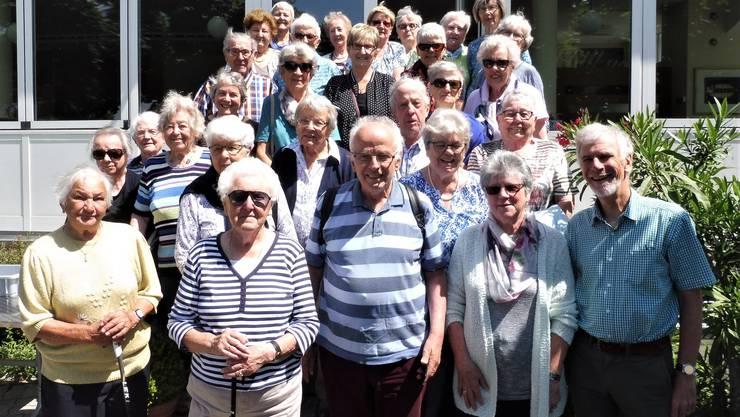 Feriengruppe der Evang-Ref. Kirchgemeinde Olten Stadt in Weggis