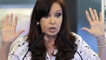 Offiziell angeklagt: Die argentinische Ex-Präsidentin Cristina Kirchner. (Archiv)