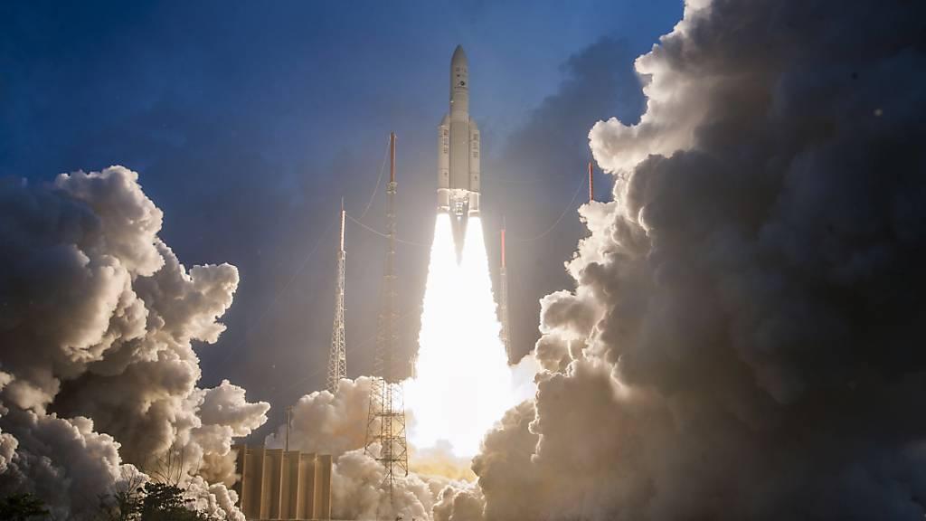 Wegen technischer Probleme: Start der Ariane-5-Rakete verschoben