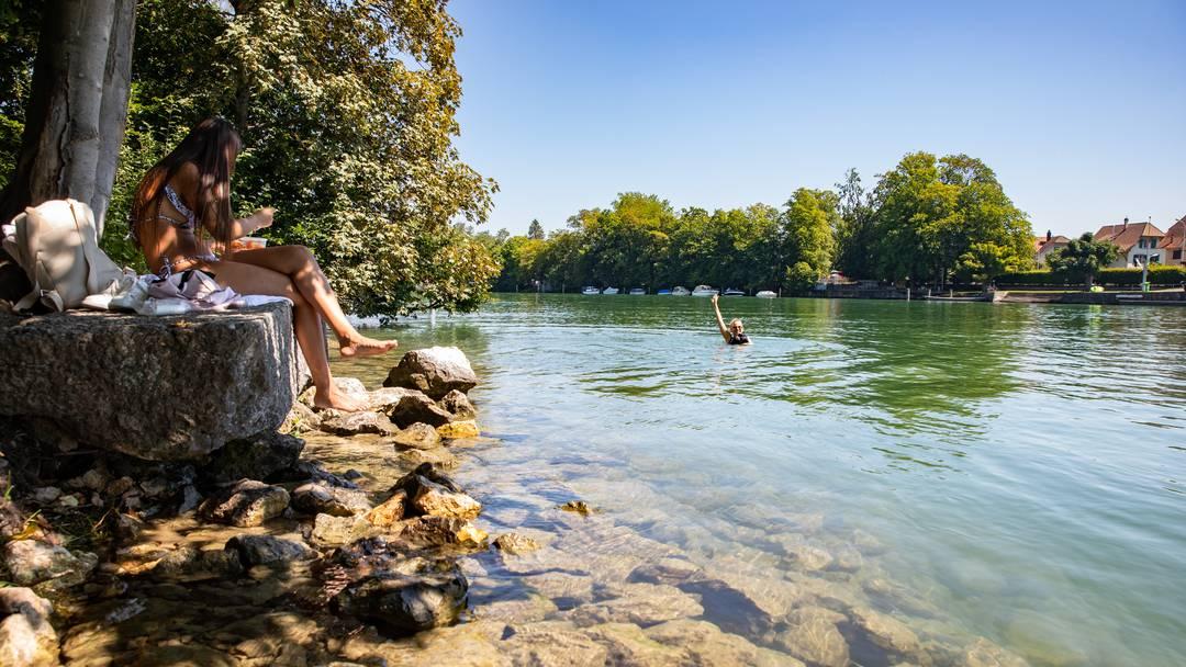 Auf den Spuren der schönsten Badeplätze in Solothurn