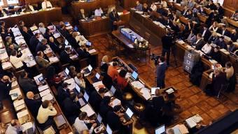 Blick auf den Zürcher Gemeinderat im Rathaus (Archiv)