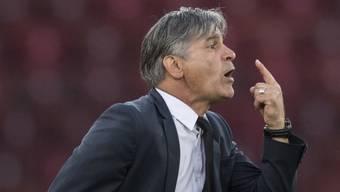 Trainer Maurizio Jacobacci gibt in Wil keine Anweisungen mehr