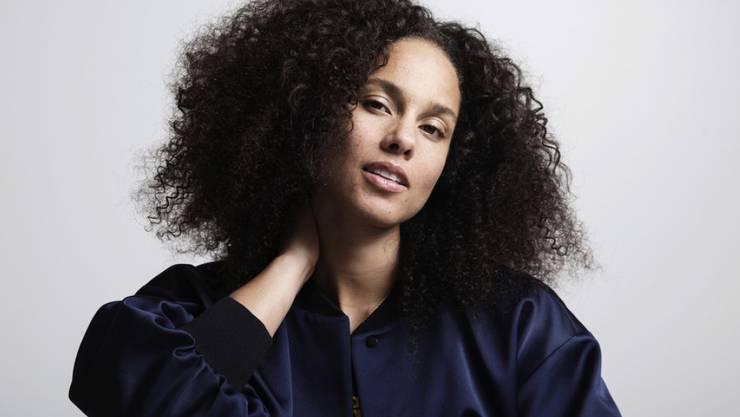 Grosse und wichtige Ehre für Alicia Keys: Die US-Sängerin wurde von Amnesty International für ihre Wohltätigkeitsarbeit gewürdigt. (Archivbild)
