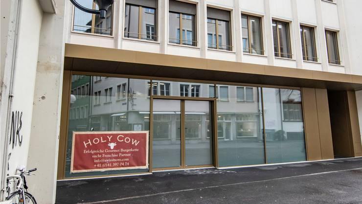 «Holy Cow» hat Mühe, am Rümelinsplatz Interessenten zu finden.