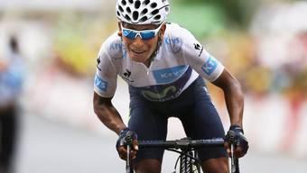 Nairo Quintana übernahm das Leadertrikot (Archivbild)