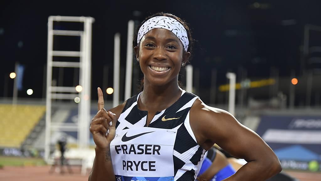 Die Jamaikanerin Shelly-Ann Fraser-Pryce hat derzeit gut lachen (Archivbild)