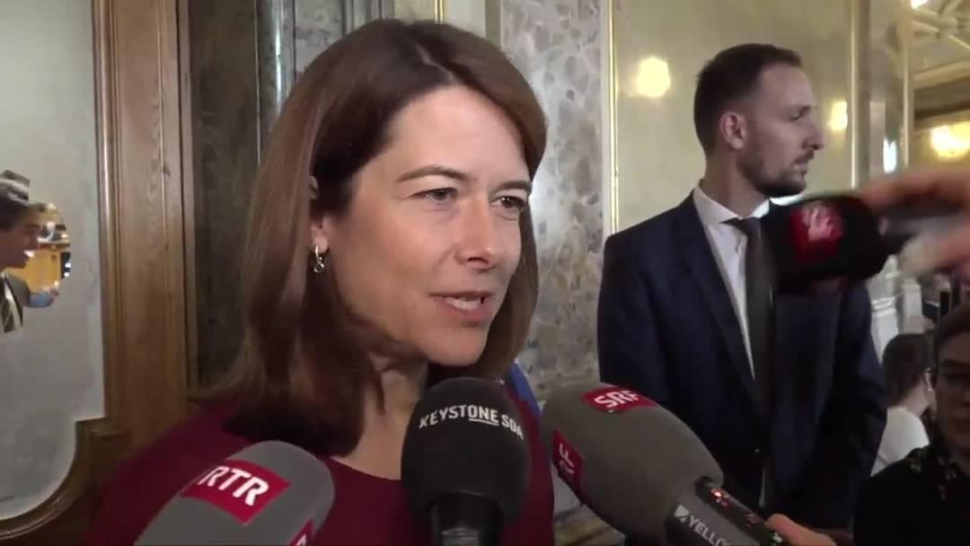 Das sagt Petra Gössi nach der Wiederwahl der FDP-Bundesräte