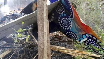 Das Flugzeug stürzte im Westen von Costa Rica nach dem Start in den Bergen in einen Wald ab.