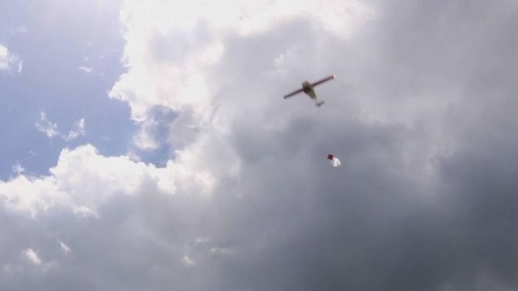 Hier liefern Drohnen den Covid-Impfstoff aus