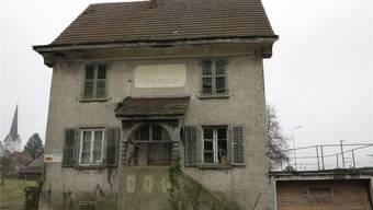 Letztes Überbleibsel in Wangen: Das Fabrikgebäude der Otto Kauf AG wurde Mitte März abgebrochen.