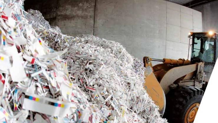 Zürich hält seinen Verbrauch an Papier und Hol niedrig. Dafür wird der Kanton jetzt ausgezeichnet.
