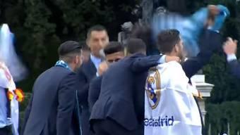 Cristiano Ronaldo, was singt er bei der Champions-League-Feier von Real Madrid?