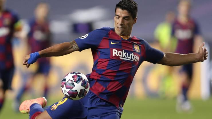 Luis Suarez wird das rotblaue Tenü nach sechs Jahren ablegen