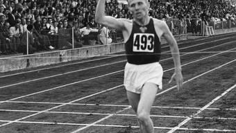 Wolodymyr Kuz erzielte 1954 den ersten Weltrekord auf Schweizer Boden.