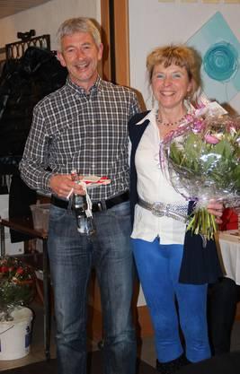 Vereinsmeister LGD 2013: Vreni Gerber und Walter Howald