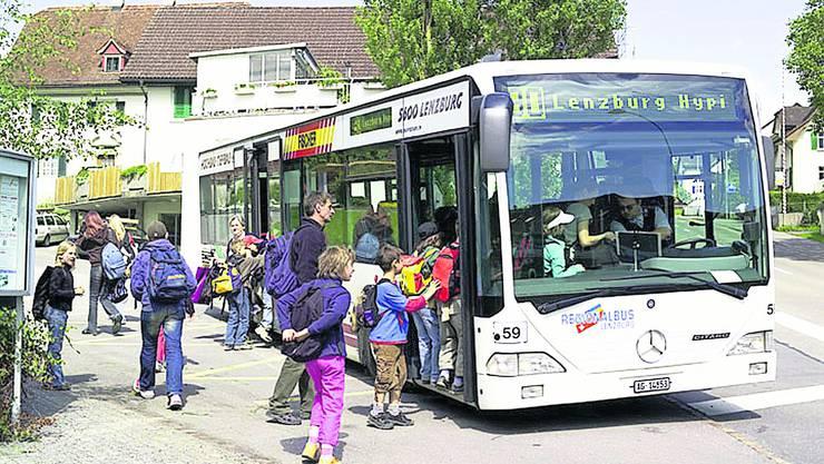 Bettwil sucht nach Möglichkeiten, das Busangebot zu verbessern. Foto: Ewald Stutz, Wohlen