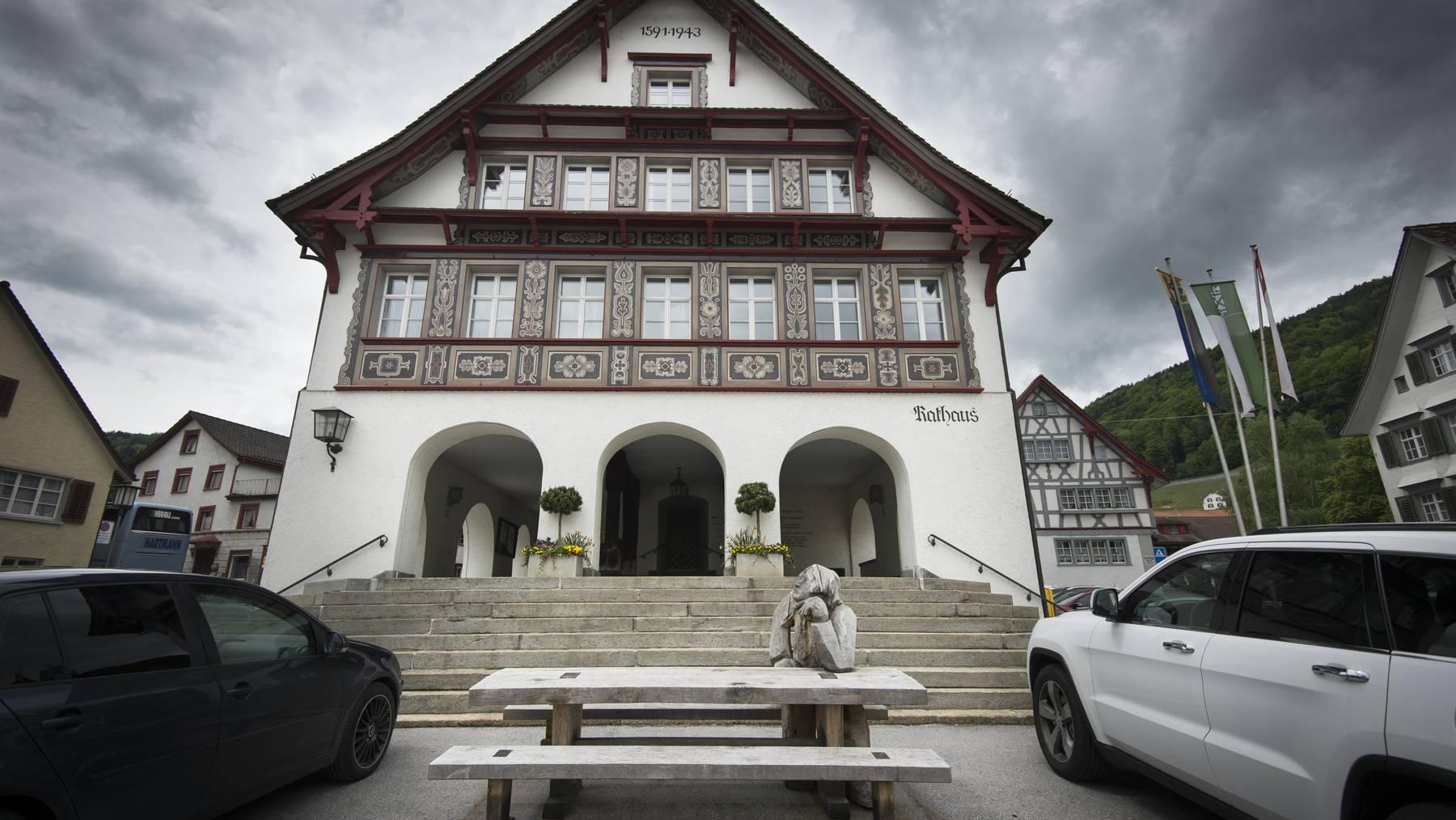 Die Gemeinde Berneck hat ein neues Oberhaupt gewählt. © Benjamin Manser / TAGBLATT