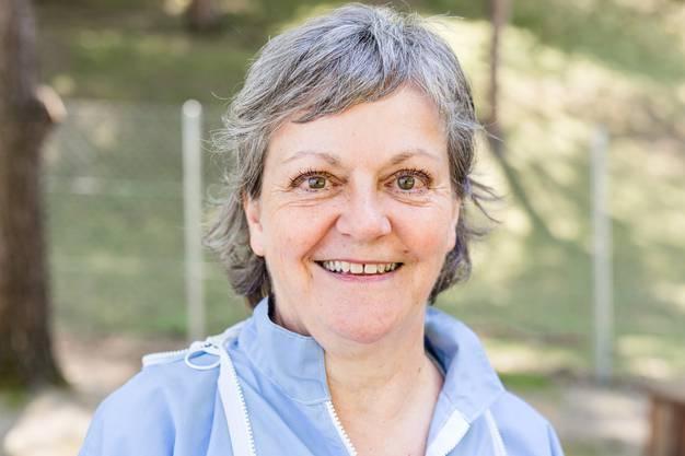 Ursula Müller ist Imkerin in Königsfelden (Windisch). Fotografiert bei ihrem Bienenhaus, wo sie 10 Völker hält.