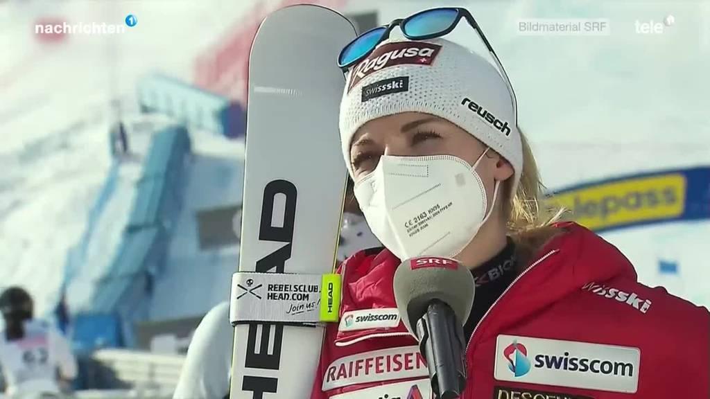 Lara Gut gewinnt Gold im Riesenslalom der Frauen an der Ski-WM