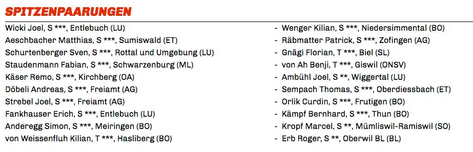 Der Sörenberger Joel Wicki ist am Brünigschwingen wieder am Start.