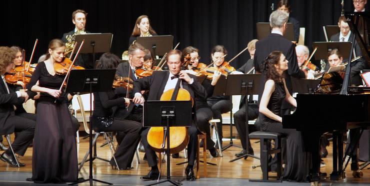 Das Trio Lyra spielt mit dem CMU das Tripelkonzert von Ludwig van Beethoven