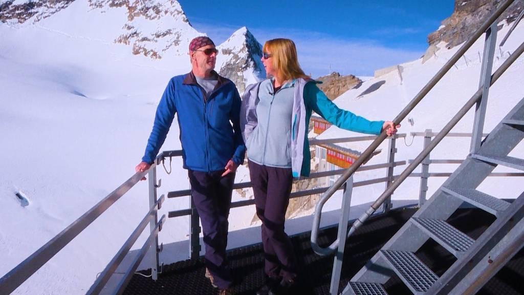 Ehepaar Fischer: Leben auf dem Jungfraujoch