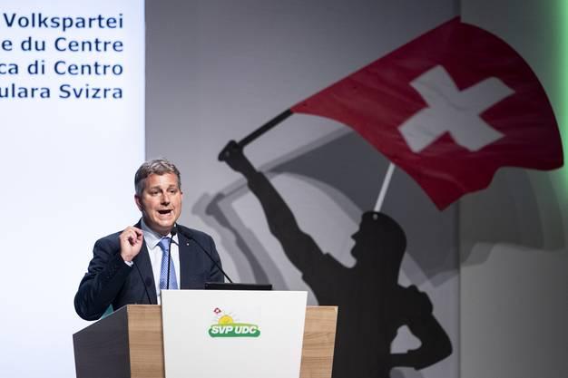 In seiner ersten Ansprache als Präsident betonte der Tessiner, die Partei werde unter ihm nicht grüner oder sozialer.