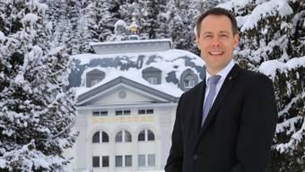 Thomas Kleber, Direktor des Steigenberger Grandhotel Belvédère in Davos.