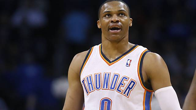 Russell Westbrook im Eiltempo