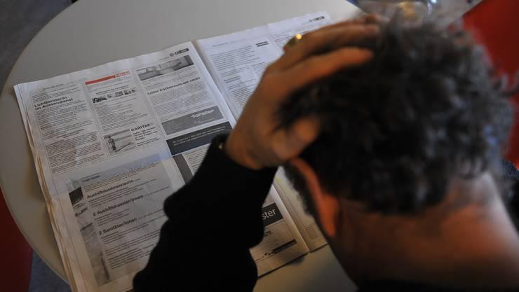 Die Arbeitslosenquote stieg im April weiter an. (Bild: om)