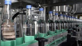 In Reih und Glied: Wodka-Flaschen (Symbolbild)