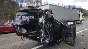 Unfall wegen Fuchs auf der A2