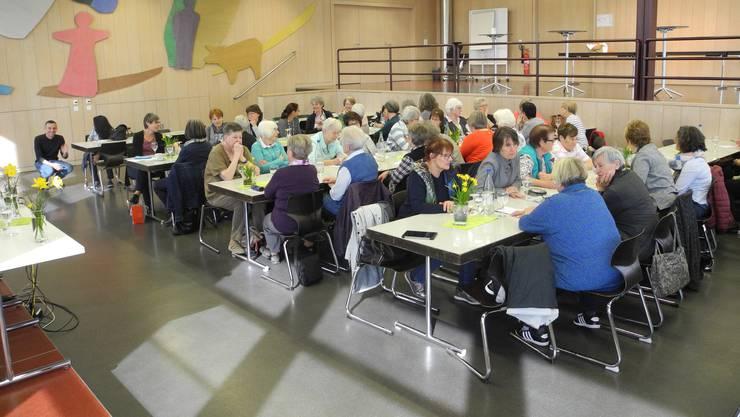 Der Bildungs- und Besinnungstag des katholischen Frauenbundes Kanton Solothurn war ein voller Erfolg. (Archivbild)