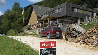 Der Berghof mit Gastwirtschaft Schauenburg,