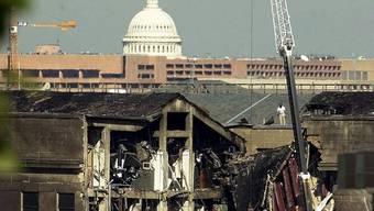 Schon 2001 war das Pentagon Ziel eines Terror-Anschlages gewesen