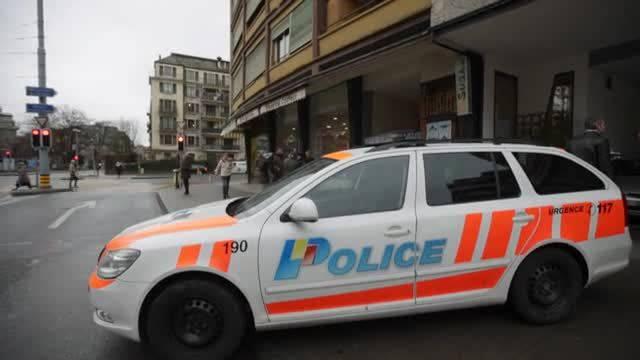 Bewaffneter Mann von Genfer Polizei getötet