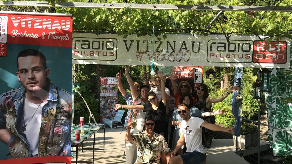 Zehnte Hit 600-Party in Vitznau