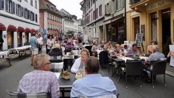 Strassenfest Tavolata in Bad Zurzach 2018