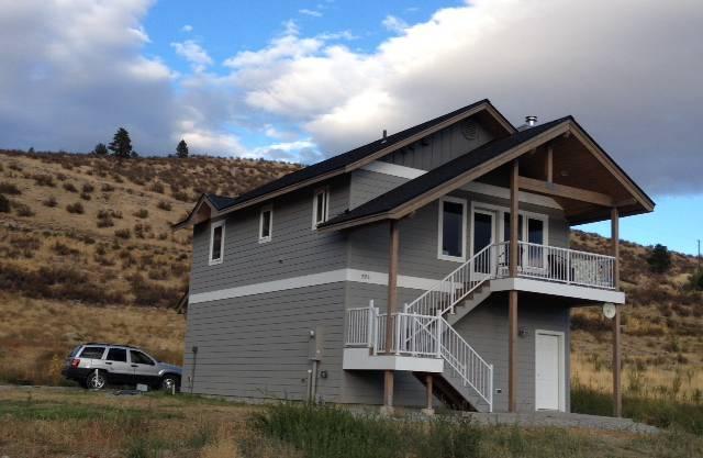 Das Haus der Familie Bider in Manson.
