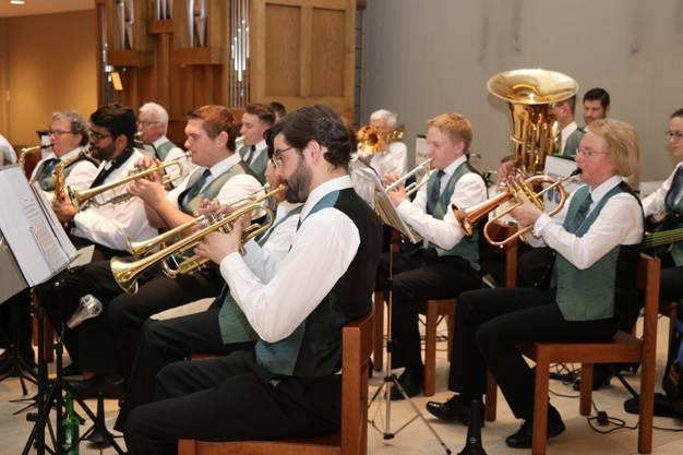 Kreismusik Limmattal gab in Geroldswil ein Konzert.