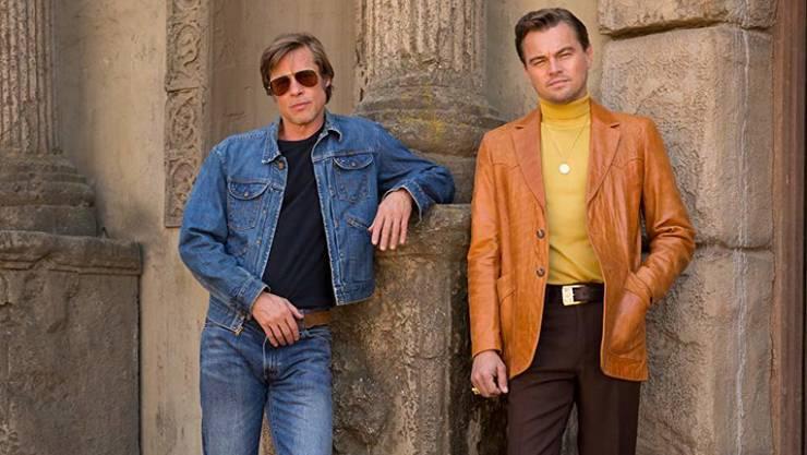 """In Quentin Tarantinos neuem Film """"Once Upon a Time in Hollywood"""" (Start 2019) stehen erstmals Brad Pitt und Leonardo DiCaprio gemeinsam vor der Kamera. Das hätte schon viel früher der Fall sein können: 2005 hätten die beiden das Liebespaar in """"Brokeback Mountain"""" spielen sollen. (Pressebild CMTG)"""