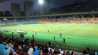 6000 Zuschauer wollen den FC Alashkert, die Nummer 374 des Klubrankings, gegen den FC Santa Coloma (366) sehen. 469 Teams sind von der Uefa klassiert.