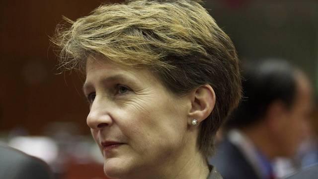 Begrüsst die starke Rolle des Schengen-Ausschusses: Bundesrätin Simonetta Sommaruga (Archiv)